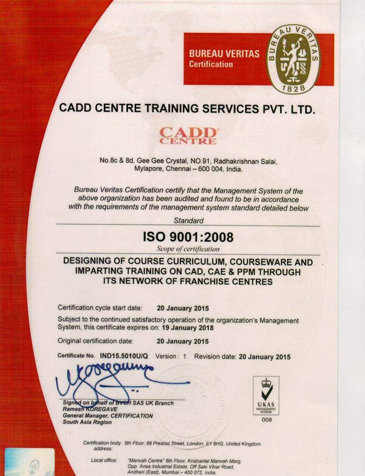 welcome to cadd centreiso certification welcome to cadd